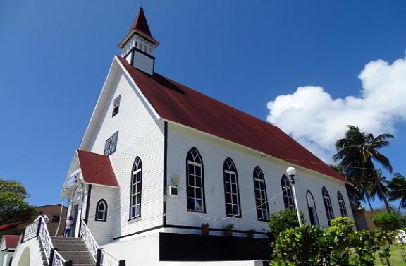 Baptista templom a Cerro Lomán