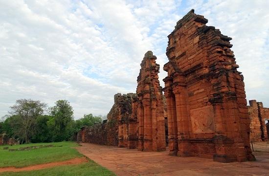 San Ignacio Miní templomának maradványai