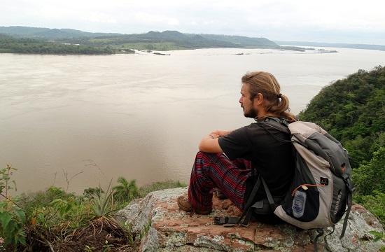Kilátás a Rio Paranára