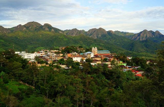 Kolumbia San Juan de Rio Seco Pulí Cerro Tabor
