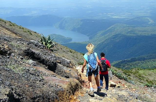 El Salvador Santa Ana Santa Ana-vulkán Cerro Verde Nemzeti Park