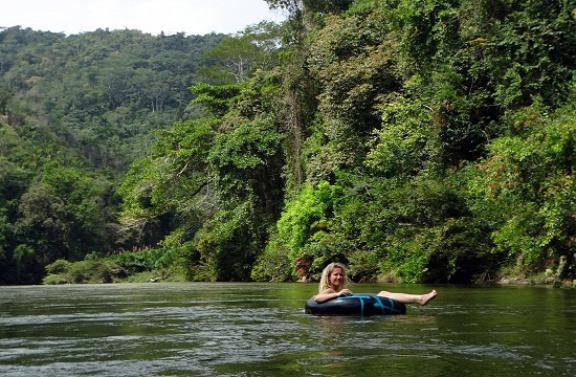 Csorgás a Rio Palominón