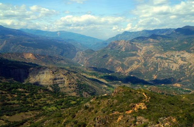Kolumbia Socha Pisba Nemzeti Park Chicamocha-kanyon