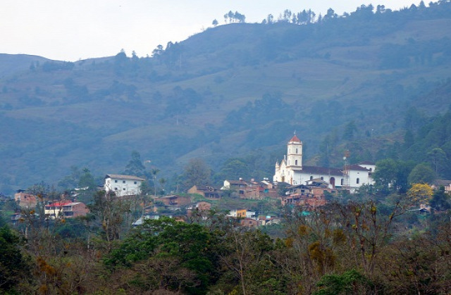 Kolumbia Guayata Somondoco Chivor