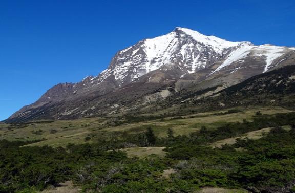 Ilyen szép idő is tud ám lenni a Torres del Painénál
