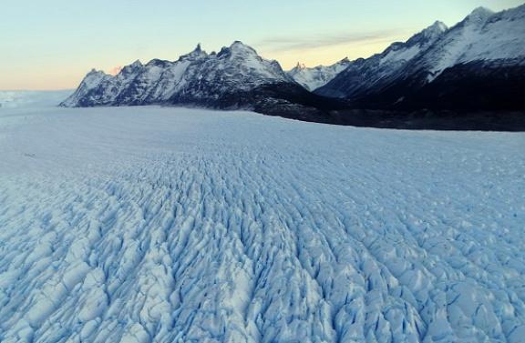 Ezeken a jégmezőkön még nem járt ember