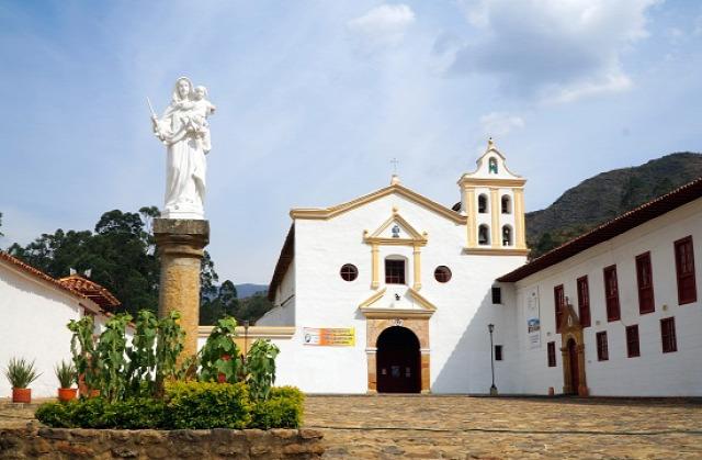 Kolumbia Ráquira Tunja