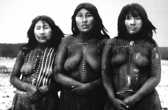 19. század végi fénykép az utolsó élő selknamokról