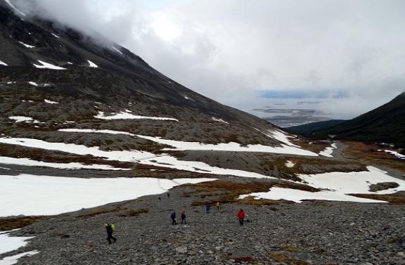 Vége van a Martial-gleccsernek