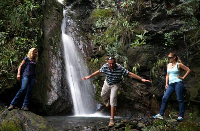 Kolumbia La Vega Nocaima Vergara El Escobo-vízesés