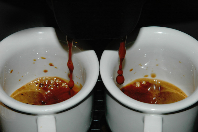 kávé espresso nutella mogyoró