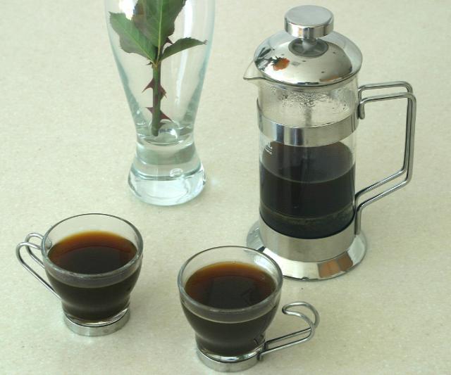 kávé karácsony vendégség espresso french press