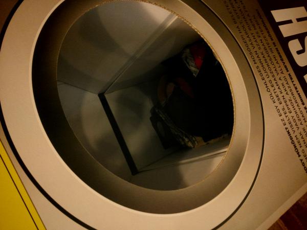 FlashMos mozi mosógép ruhagyűjtés