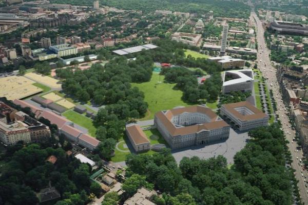 Orczy-kert Ludovika Bárka színház Józsefváros