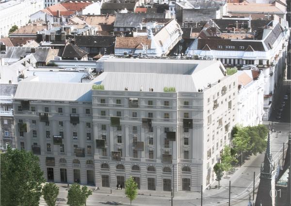 Kossuth tér MTESZ székház ötletpályázat