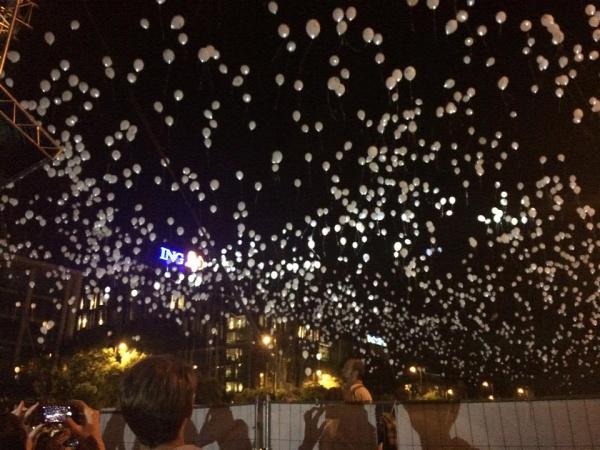 Gyereknap gyermekhap Rehab Critical Mass ezer lámpás éjszakája