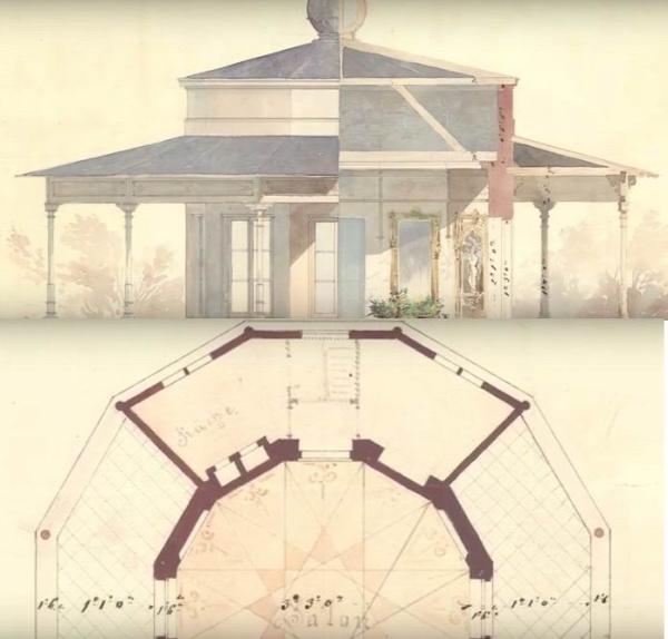 városliget liget projekt pavilonok Feszl Frigyes