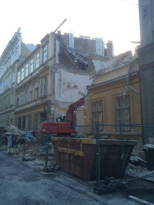 kulturális örökség épített környezet luxus építkezés építés bontás belváros