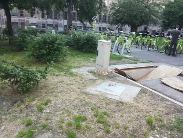 József nádor tér fakivágás V. kerület