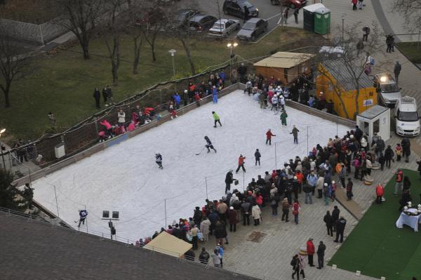 jégpálya ingyen korcsolyázás budapest