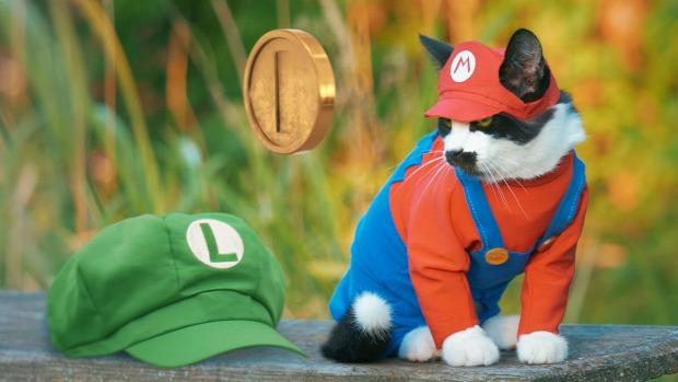 Super Mario paródia