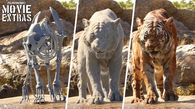 Dzsungel könyve film trükk CGI