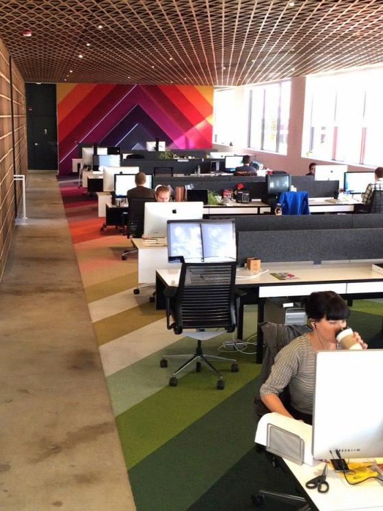 iroda open office megzavarás munkahelyi környezet kollaboráció csapatmunka