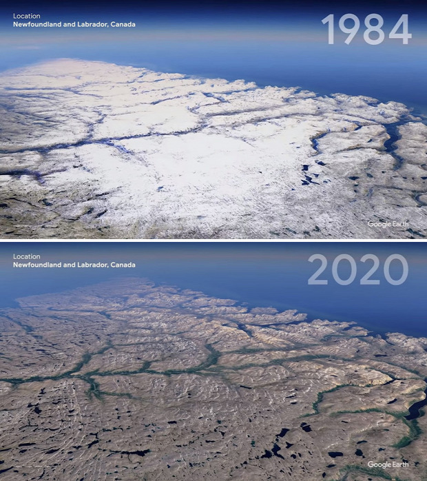 google Föld ember változás világ