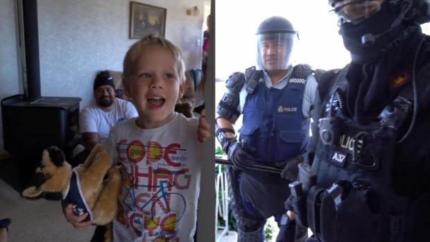 Új-Zéland rendőrség hívás születésnap 5 éves