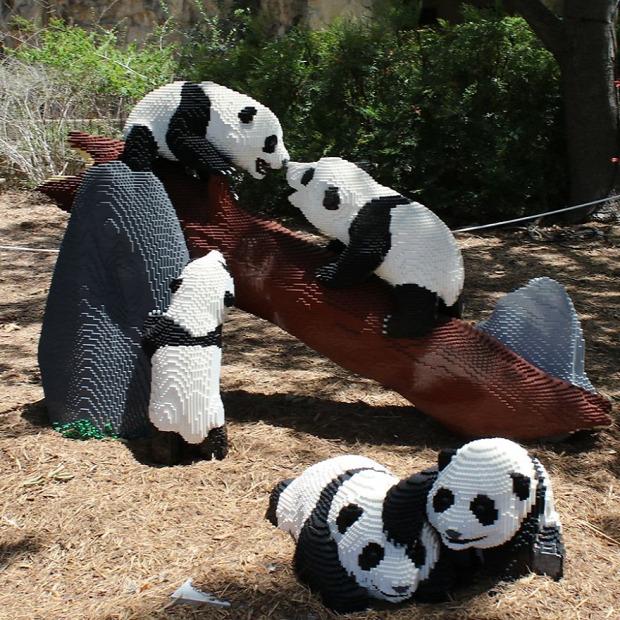 San Antonio állatkert LEGO áálatok