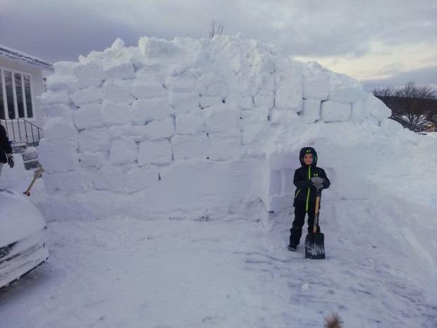 Kanada Labrador Uj-Foundland hóvihar