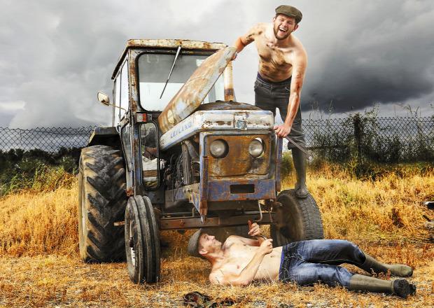 A világ érdekes ír naptár farmer