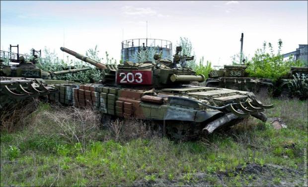 A világ érdekes Harkov harckocsi javító gyár üzem Ukrajna