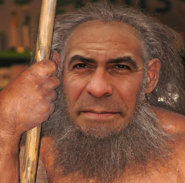 sztár celeb híresség neandervölgyi ősember