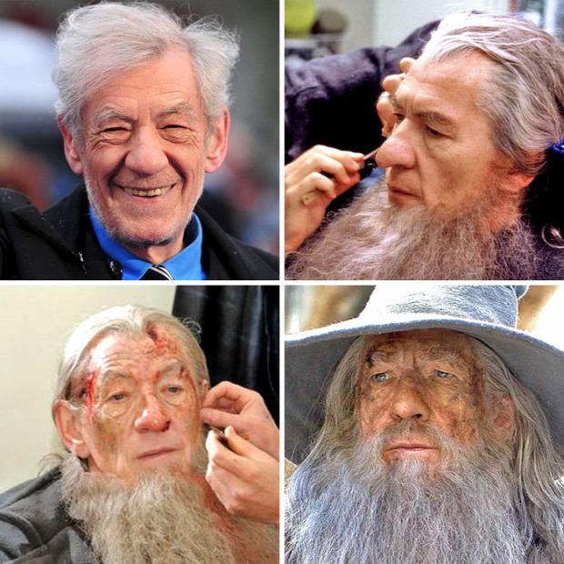 A világ érdekes színész sztár szerep smink