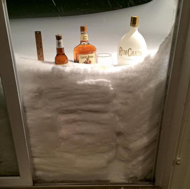 USA hóvihar katasztrófa időjárás