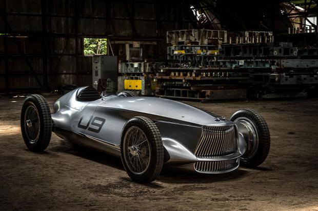 Kütyülógia Infiniti  prototype 9 Nissan elektromos autó