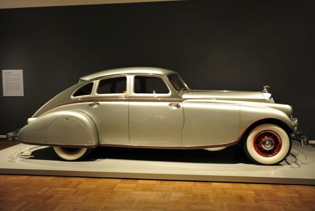 Világ érdekes 1933 Pierce Silver Arrow retró antik régi autó