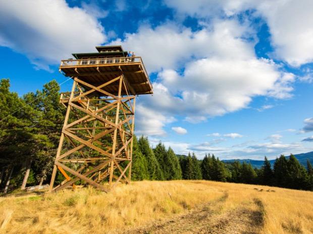 A világ érdekes Oregon tűztorony ház lakás felújítás