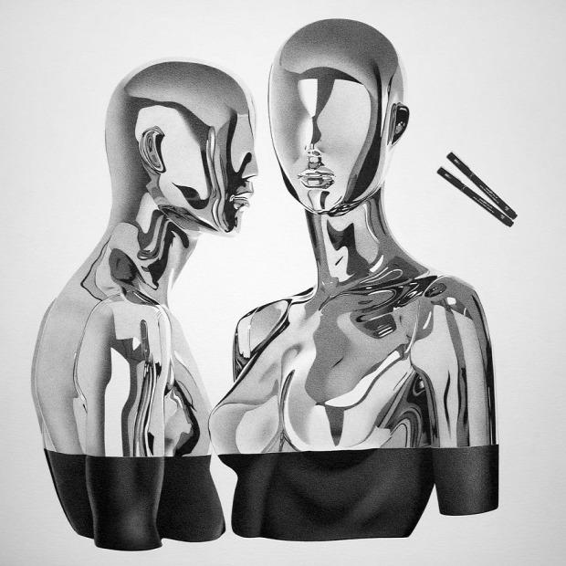 Alessandro Paglia hiperrealisztikus rajz