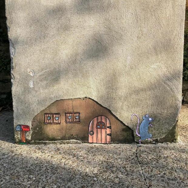 graffiti rajz