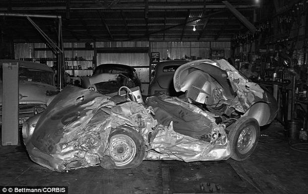 A világ érdekes rejtély James Dean kocsi porsche halál elátkozott