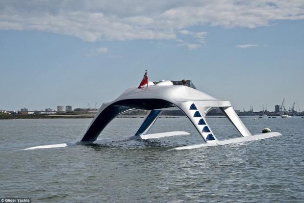 Kütyülógia jacht katamarán Glider