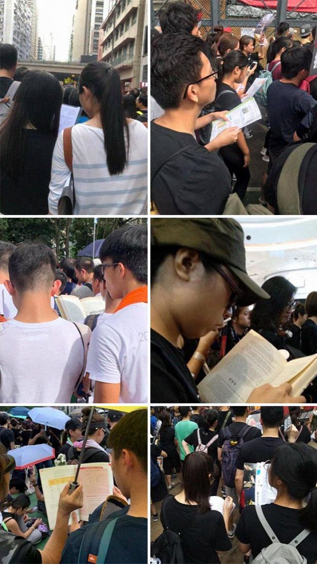 A világ érdekes Hongkong tüntetés tiltakozás
