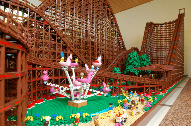 A világ érdekes hullámvasút LEGO El Toro