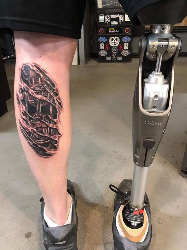 A világ érdekes tetoválás tatoo tetkó 3d térhatású