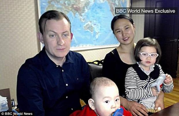 A világ érdekes Richard Kelly  professzor BBC interjú gyerek megszakadt paródia