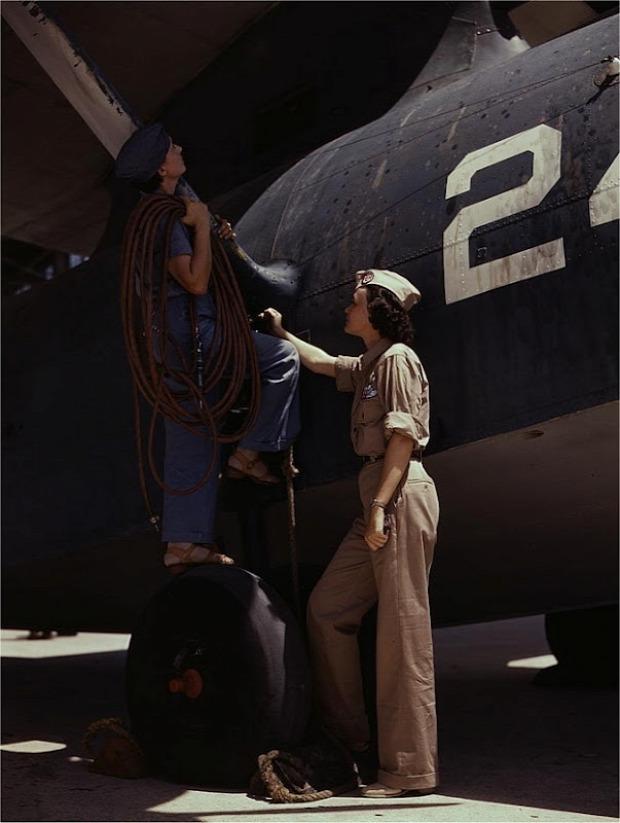 A világ érdekes világháború második nő munkaerő
