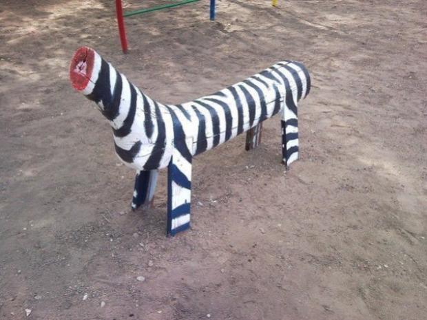 Isten állatkertje játszótér morbid