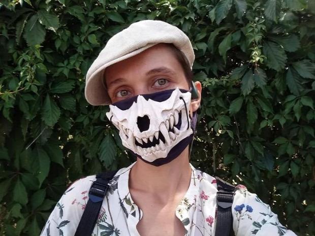 maszk halloween járvány